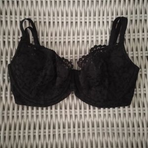 NWOT 32DDD Body Victoria unlined Demi black lace